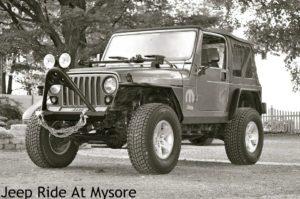 jeep Rental in Mysorew