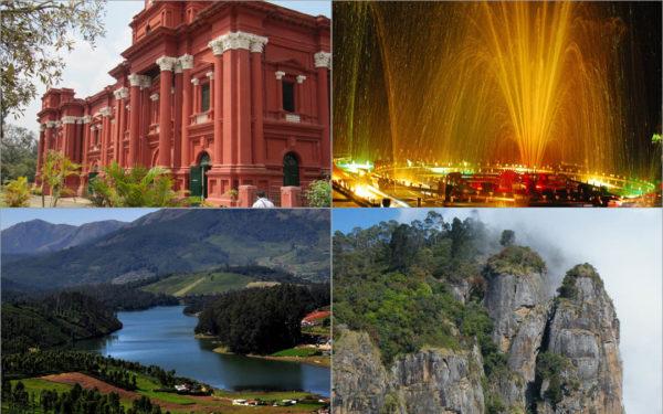 Bangalore Mysore Ooty Kodaikanal 7 Nights 8 Days