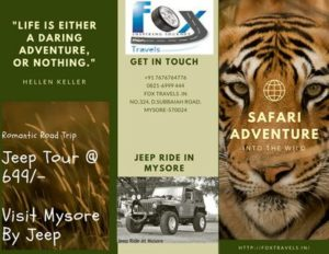 Mysore Jeep Rental