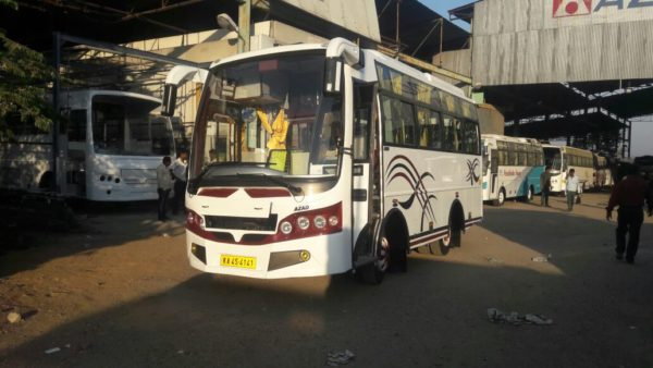 21 Seater And 22, 24 Seat Mini Bus Rent In Mysore For Outstation